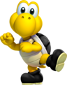 Black Shelled Koopa Troopa Art