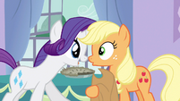 Rarity joyous squeal of delight S3E9