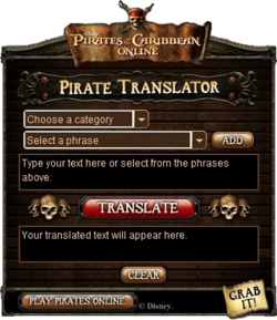 PirateTranslator