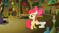 Apple Bloom looking away from the potion bowl S2E6.png
