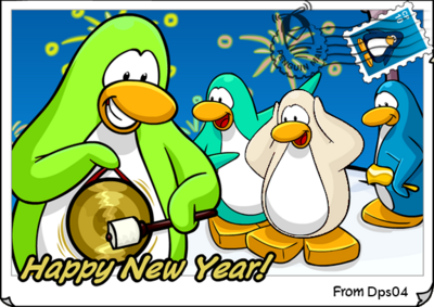 Dps New Year Postcard