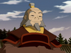 Iroh smiling