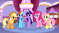 5 main ponies speechless S01E14