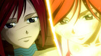 Erza&#39;s farewell (Anime)