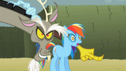 Discord &#39;Look over there Rainbow Dash!&#39; S2E1