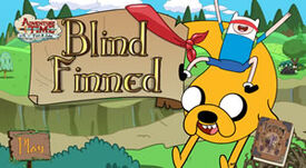 B adventure time blind finned