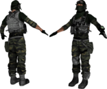 U.S Recon Static Models