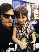 Reedus and Child
