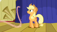 Applejack oh a floating rope S1E6