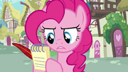 Pinkie Pie with pad and quill S02E18