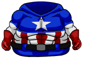 Captain America Bodysuit clothing icon ID 4628