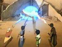 Duel against Azula