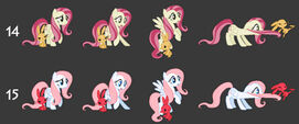 Fluttershy concept art Fighting is Magic