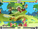 Fluttershy vs Applejack Fluttershy's cottage Fighting is Magic