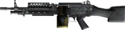 M249 SAW Side Render BF3