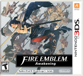 Fire Emblem Awakening US Boxart