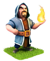 Clash of Clans(部落战争)Wizard