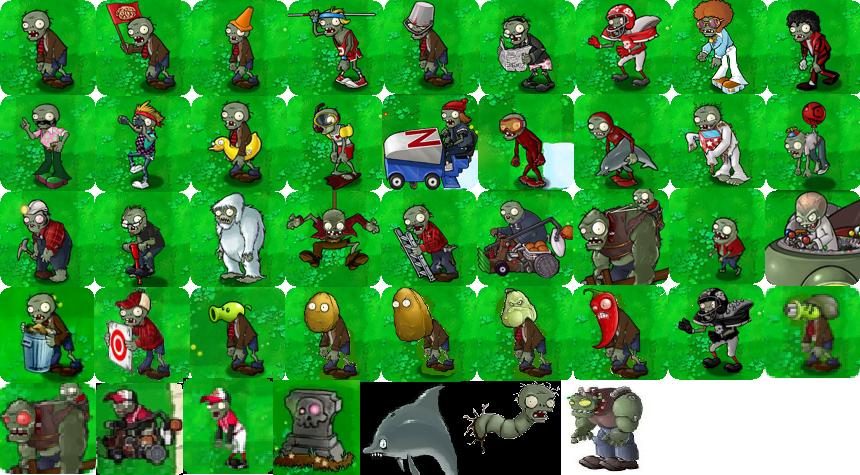 Zombies plants vs zombies personajes wiki