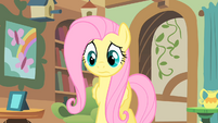 A worried Fluttershy S1E22