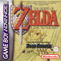 A Link to the Past GBA Cartula Europa