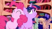 Pinkie Pie &#39;if it were quiet&#39; S1E1