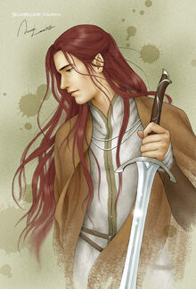 Maedhros by Anna Lee