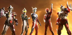 Ultimate Force Zero in Ultraman Retsuden Episode 79