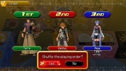 Command Board Selection Screen KHBBS