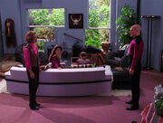 Picard confronts Aster illusion