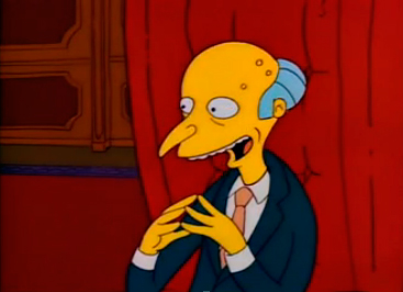 Degrassi Wiki as Simpsons CharactersSimpsons Characters Mr Burns