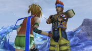 Wakka found out Rikku is an Al-Bhed