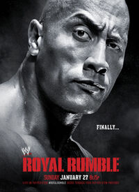 Royal Rumble 2013 Poster