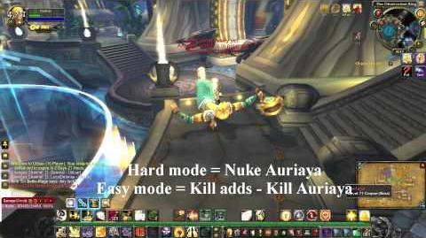 How to Solo Auriaya (Crazy Cat Lady) MoP