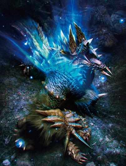 Monster Hunter 3 Ultimate Zinogre_Art