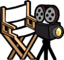 Yellow Puffle's Director's Chair & Camera