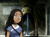 Katara smiling