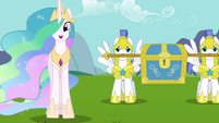 Princess Celestia &quot;I have them right here&quot; S03E10