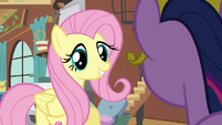 "Fluttershy optimistic ""I actually know what to do"" S03E10"