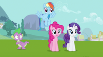 Rarity &amp; Rainbow Dash huh S3E10