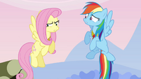 Fluttershy the &quot;silly, gullible fool&quot; S03E10