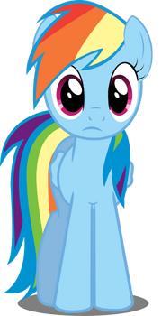 200% AWESOME ⊱ RAINBOW DASH 180px-FANMADE_Rainbow_Dash_in_perplexity_by_felix_kot-d3l3ns6