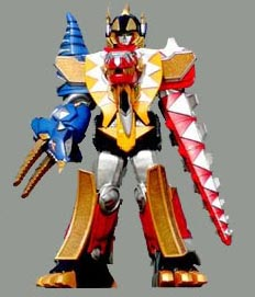 DT Thundersaurus Megazord