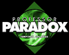 Professor Paradox Temporal Galaxies Logo