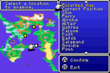 FFII GBA World Map