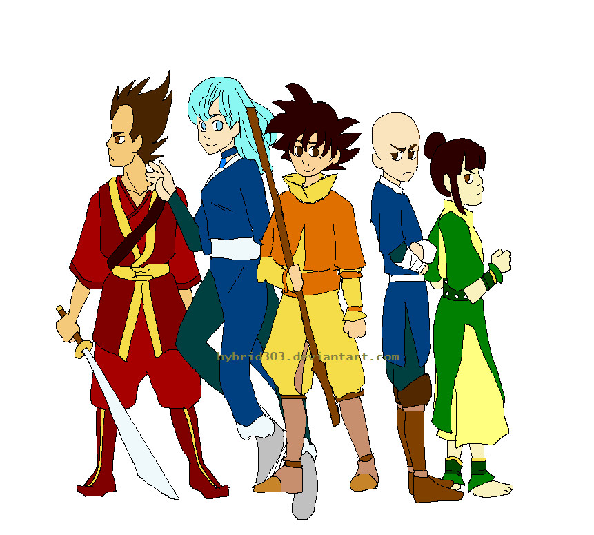 Dragon Ball Z Avatar The Last AirbenderNaruto Vs Avatar Vs Dragon Ball Z
