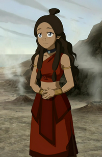 Katara&#39;s Fire Nation outfit