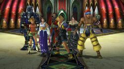 Final Fantasy X Party