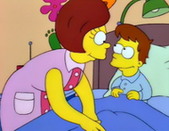 Mona young with Homer