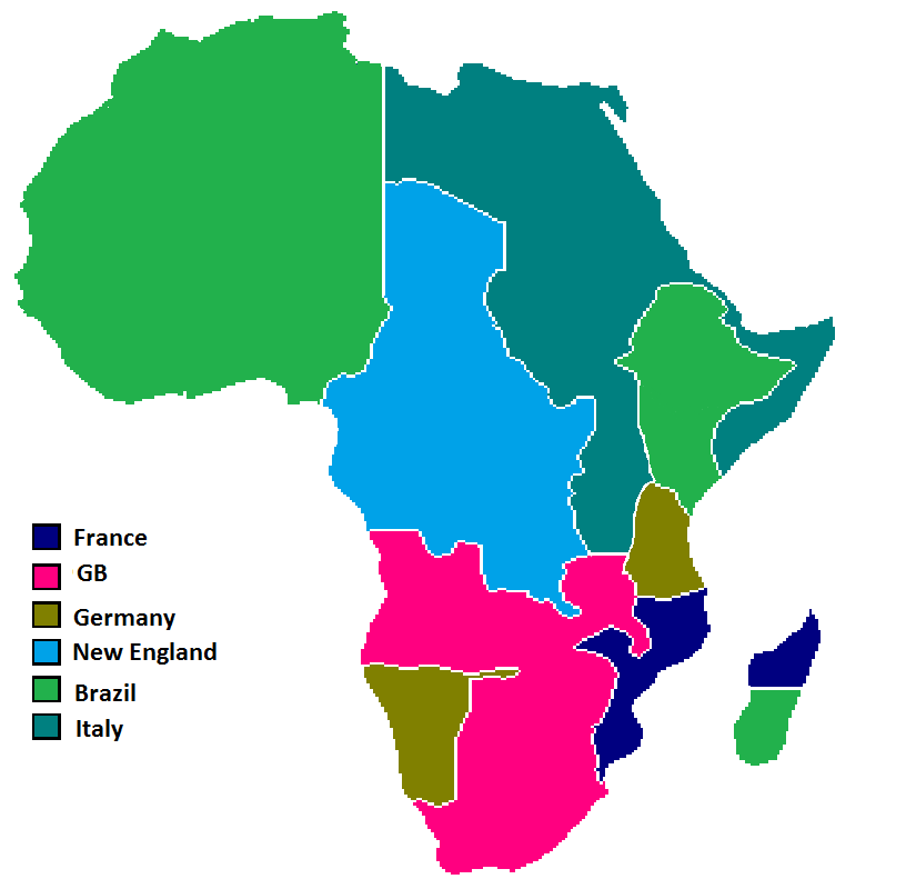 africa map berlin conference