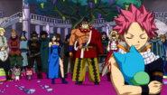Natsu takes Happy